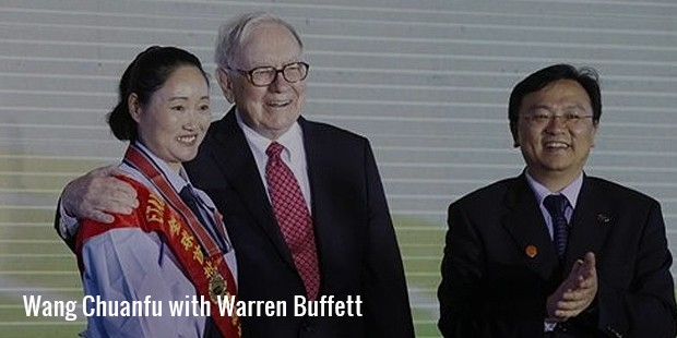 wang with warren