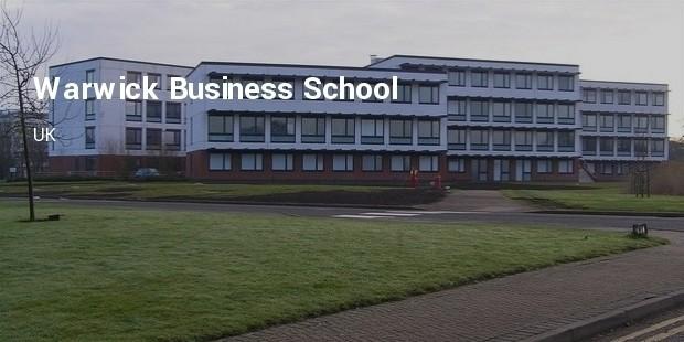 warwick business school  uk