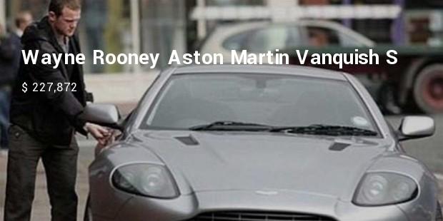 wayne rooney  aston martin vanquish s