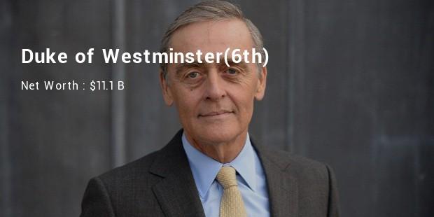 westminister duke net worth