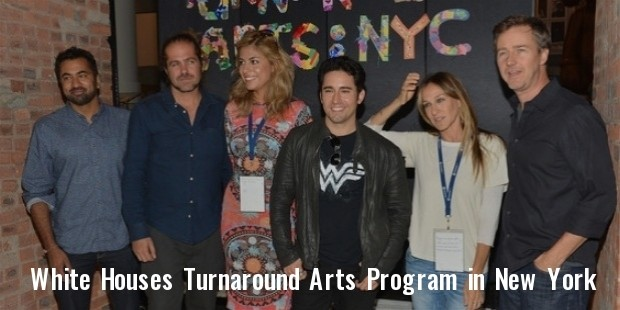 white house s turnaround arts program launches in new york