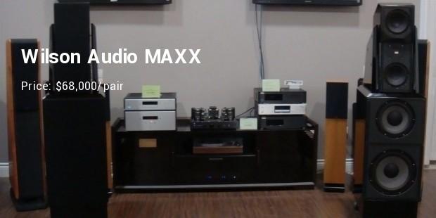 wilson audio maxx