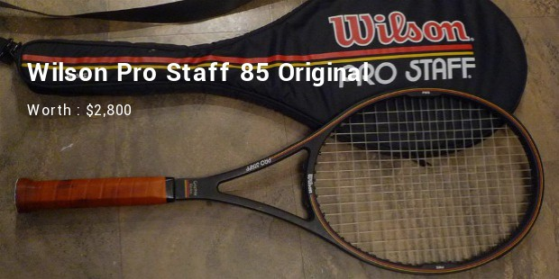 wilson pro staff 85 original worth