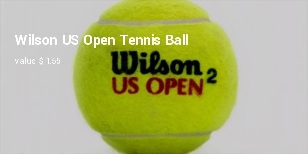wilson us open tennis ball
