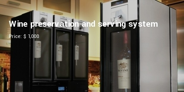 Wine preservation and serving system