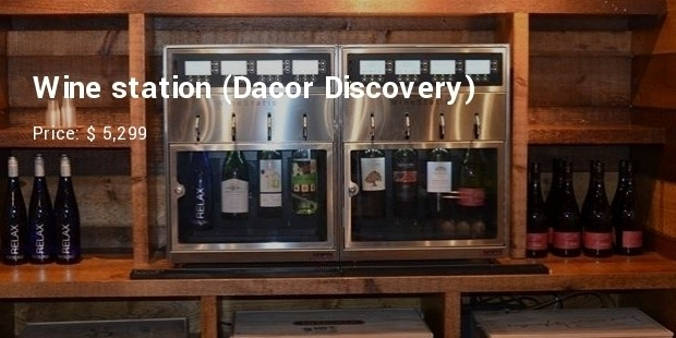 Wine station (Dacor Discovery)