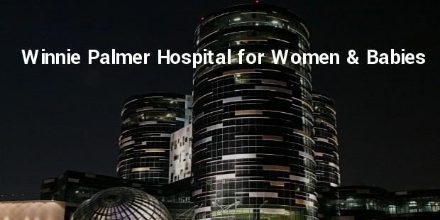 winnie palmer hospital for women   babies, orlando, florida