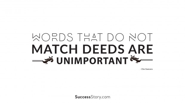 words do not match