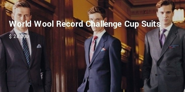 world wool record challenge cup suits