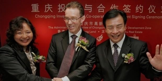 wu yajun, chairman of chongqing longhu real estate development inc