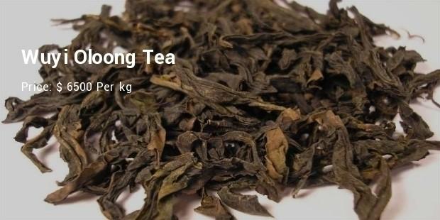 wuyi oloong tea