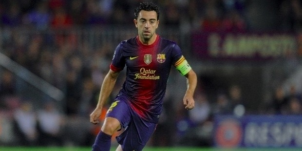 xavi top 10 footballers in the world