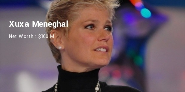 Xuxa Meneghal Net Worth