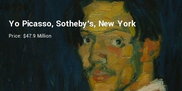 yo picasso, sotheby s, new york   $47