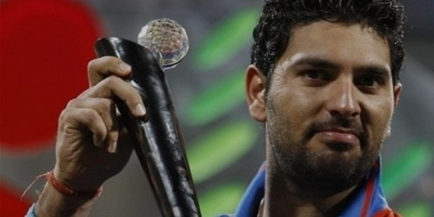 yuvi 2011 player of tournament