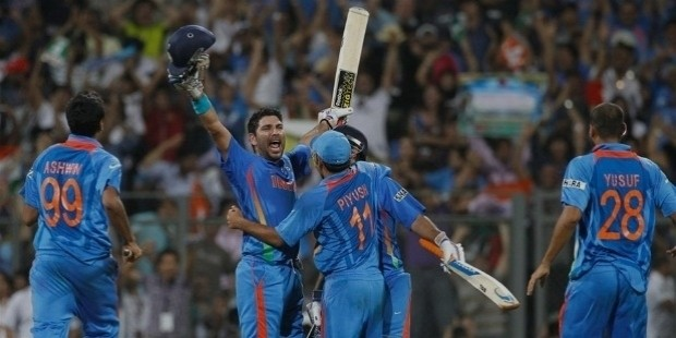 yuvraj singh man of the series
