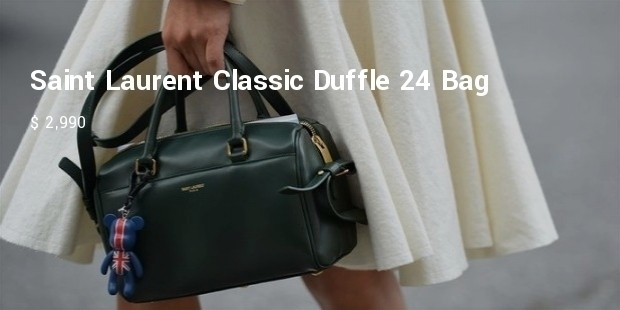 yves saint laurent classic duffle 24 bag
