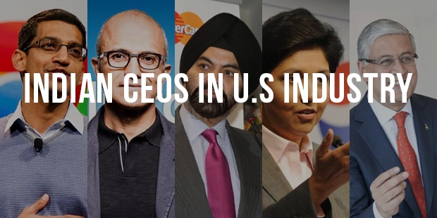 Indian CEOs Leave Their Mark in U.S Industry