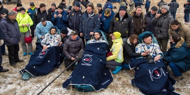 ISS Expedition 46 Crew Back on Earth After a 340 day Space Voyage
