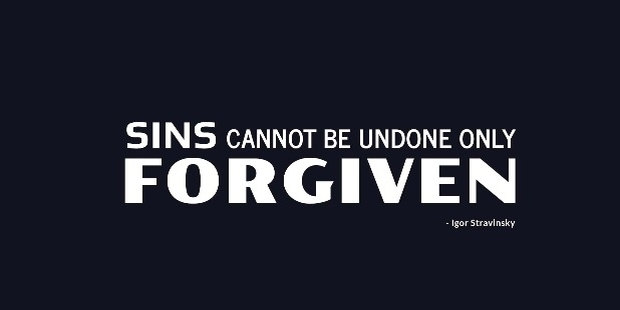 Short Forgiveness Quotes