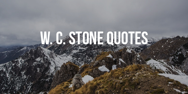 Inspirational Quotes From Self-Help Author W. Clement Stone