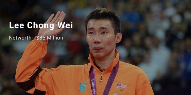 Richest Badminton Players