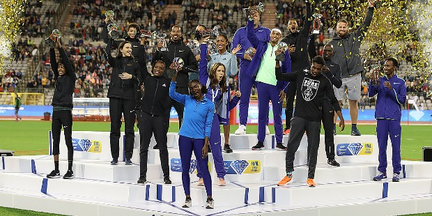 TOP 10 Athletes at Brussels Diamond League