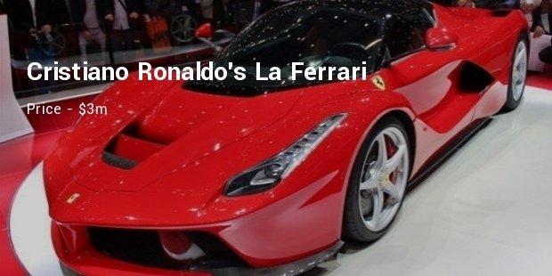Luxury Cars Of Soccer Stars