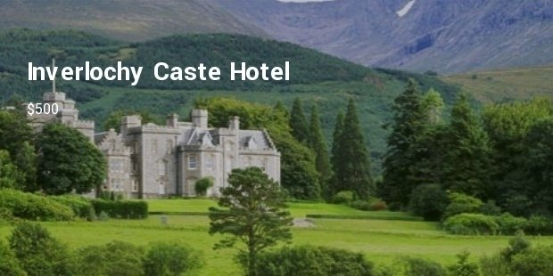 Most Luxurious Castle Hotels