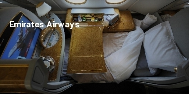 Most Luxurious High Class Airline Cabins