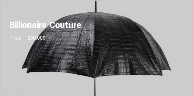 Most Luxurious Umbrellas