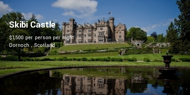 Luxury Castle Spa Hotels in Scotland