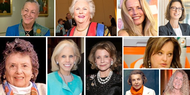 America's Top 10 Richest Women
