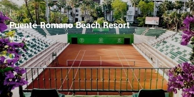 Luxury Tennis Resorts