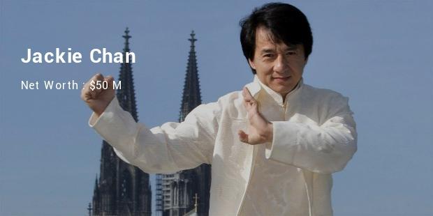Richest Asian Actors