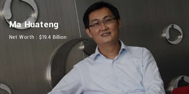 Top 10 Richest Chinese Billionaires