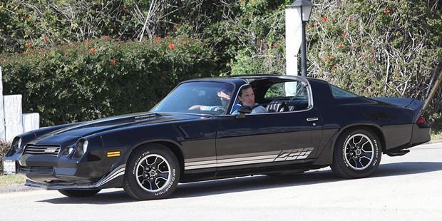 Matthew McConaugheys Camaro Z28