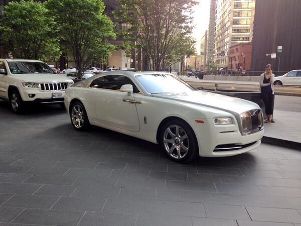 Derrick Rose Car