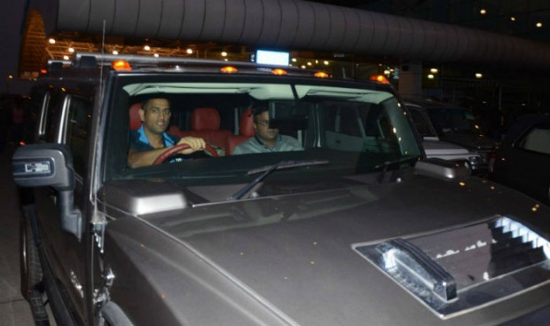MSD in his Hummer