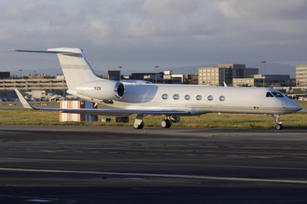 Steve Jobs Private Jet