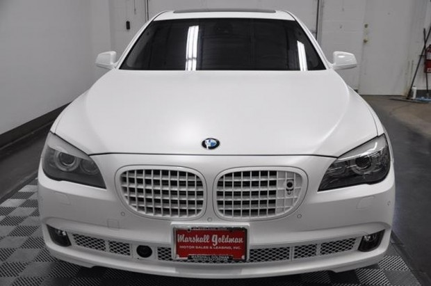 LeBron James BMW 760Li Auto