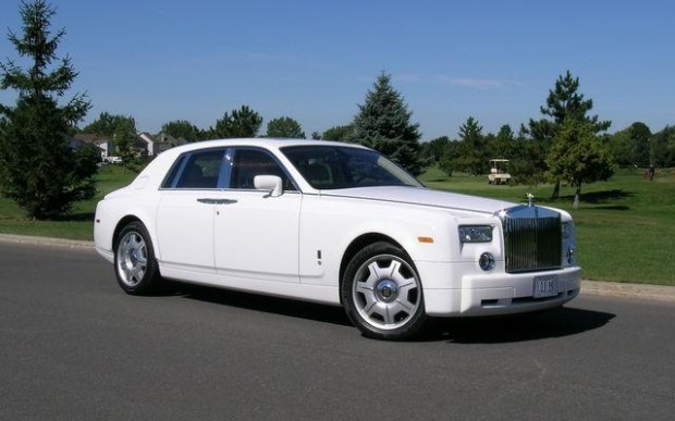 LeBron James Rolls Royce Phantom Car