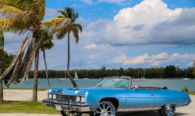 Lebron James 1972 Chevy Caprice Car