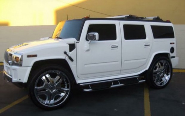 Lebron James Hummer H2 Car