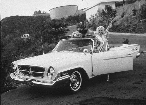 Marilyn Monroe Car in 1962