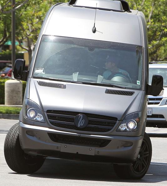 Justin Owns Mercedes-Benz Sprinter Van