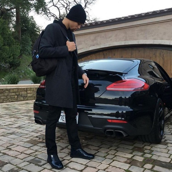 Stephen Curry Porsche Panamera