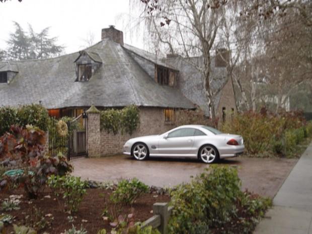 Steve's Car at His House