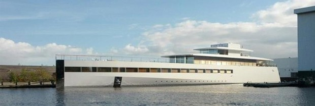 Steve Jobs Private Yacht