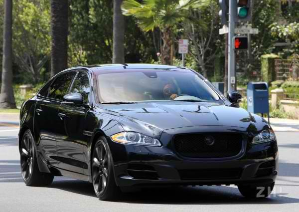 Victoria Beckham Jaguar Car